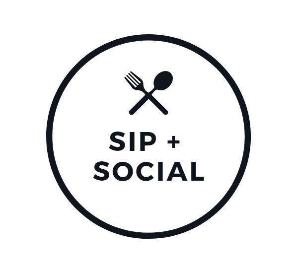 sip and social logo