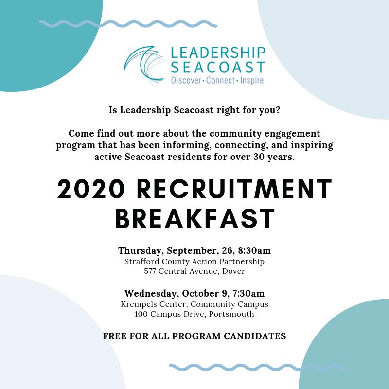 recruitment breakfast flyer